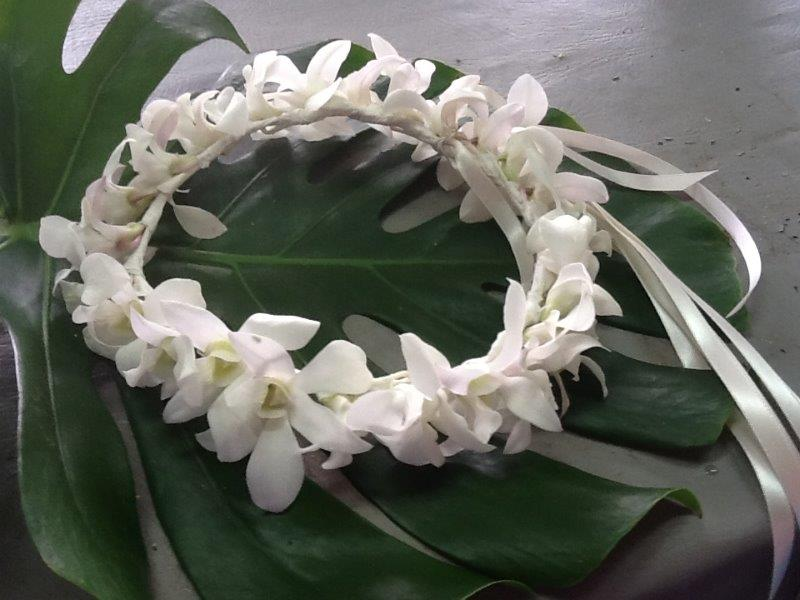 maui wedding floral arches maui wedding leis haku wedding leis flowers for maui weddingsi. Black Bedroom Furniture Sets. Home Design Ideas