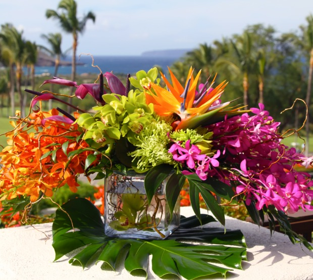 Request Use The Form Below To Delete This Maui Wedding Flowers Table